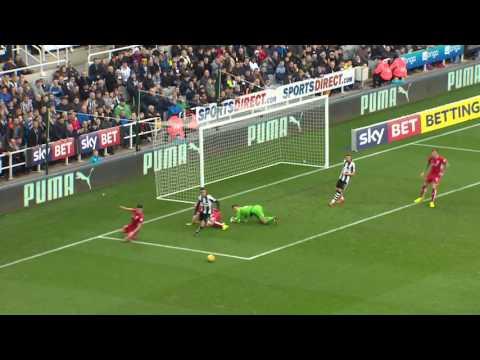 Highlights: Newcastle United 2-2 Bristol City