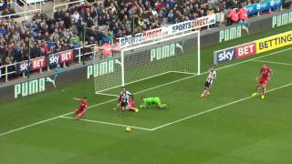 Highlights: Newcastle United 2-2 Bristol City