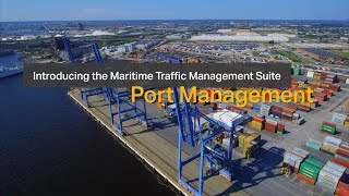 homepage tile video photo for Maritime Traffic Management - PortControl PMIS