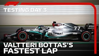 Onboard With Valtteri Bottas For The Fastest Lap Of The First Pre-Season Test