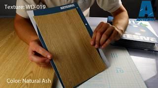 Artesive WD-019 Natural Ash - Texture Model of Self-adhesive Film