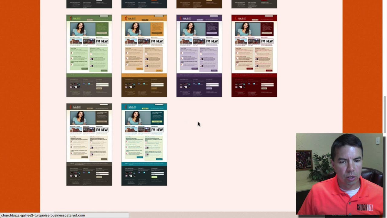 Church Website Templates Page Overview Youtube
