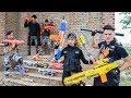 LTT Nerf War : Couple SEAL X Warriors Nerf Guns Fight Criminal Group Dr Lee Buy Sell Weapons