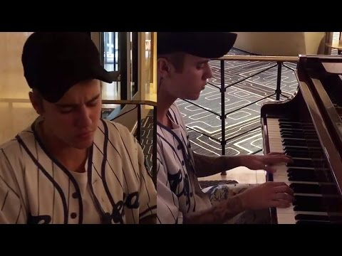 Justin Bieber Covers Rihanna's