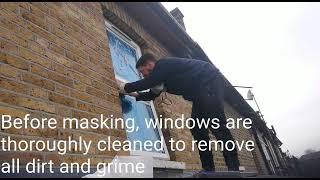 uPVC windows spray painting tips www.unispray.co.uk