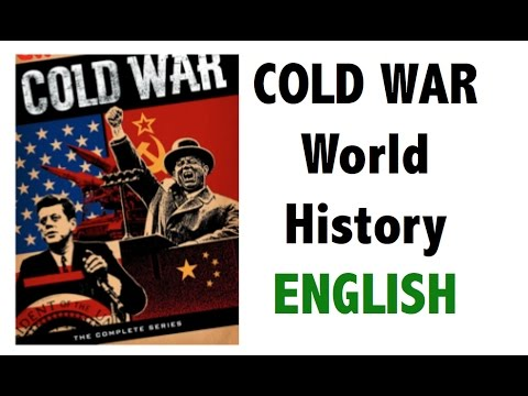 Cold War explained in English - USSR Vs USA - Full analysis - IAS/PSC/UPSC