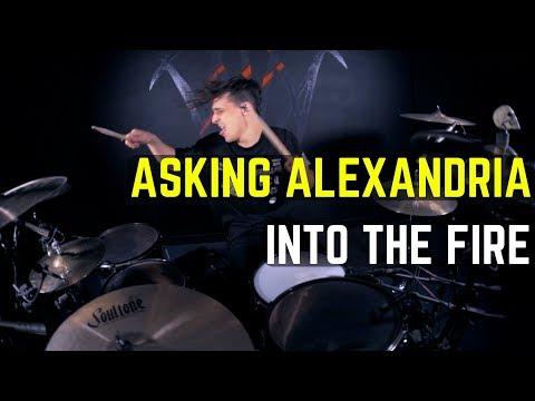Asking Alexandria - Into The Fire  Matt McGuire Drum Cover