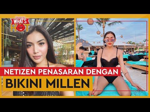 Pakai Bikini, Millen Cyrus Bikin Netizen Penasaran