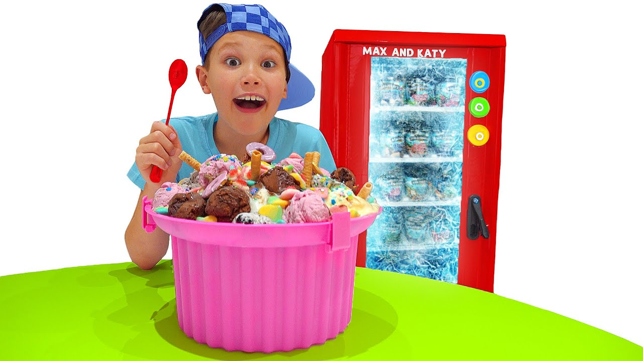 Макс и история про Холодильник мороженого