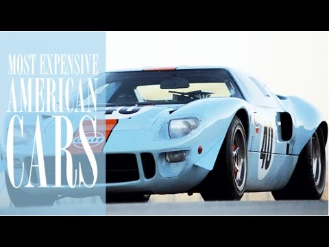 top 10 most expensive american cars ever sold youtube. Black Bedroom Furniture Sets. Home Design Ideas
