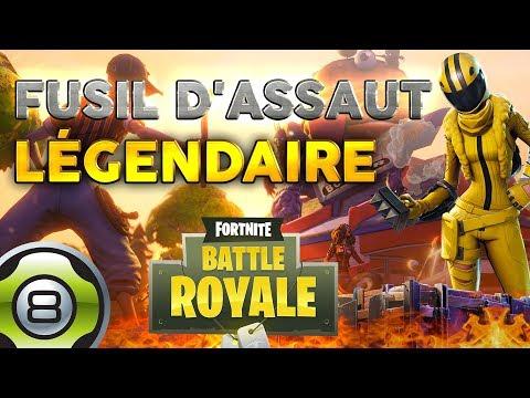 Le fusil d'assaut légendaire - Meilleur Match - Ep.3 - Fortnite Battle Royale FR