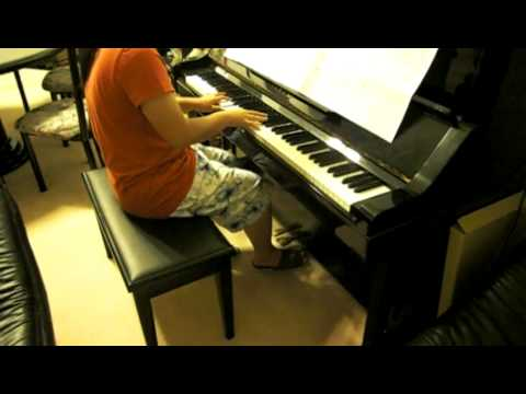 Beethoven - Moonlight Sonata (piano cover)