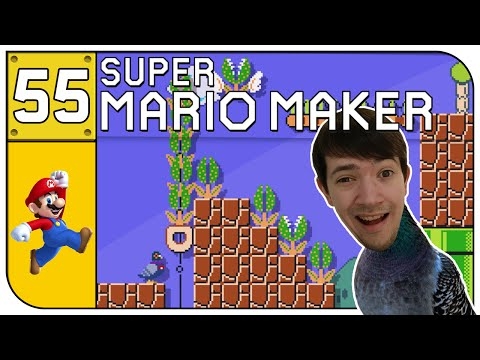 SUPER MARIO MAKER #055 - Die ham doch nen Vogel... ♣ Let's Play | Deutsch German