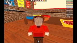 Roblox #2 Work ata Pizza Place