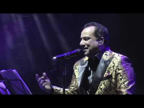 Sanu Ek Pal  - Unplugged Live By Ustad Rahat Fateh Ali Khan