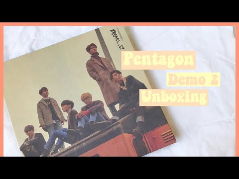 UNBOXING PENTAGON 5TH MINI ALBUM 'DEMO 2' 👑 Mp3