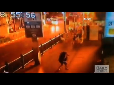 Caught on Cam: Shocking video from 2 blasts in Bangkok, Thailand