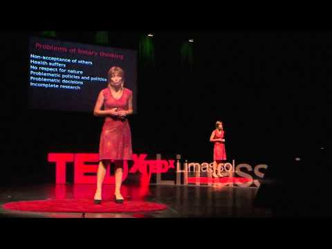 Beyond a binary world | Alexia Panayiotou | TEDxLimassol