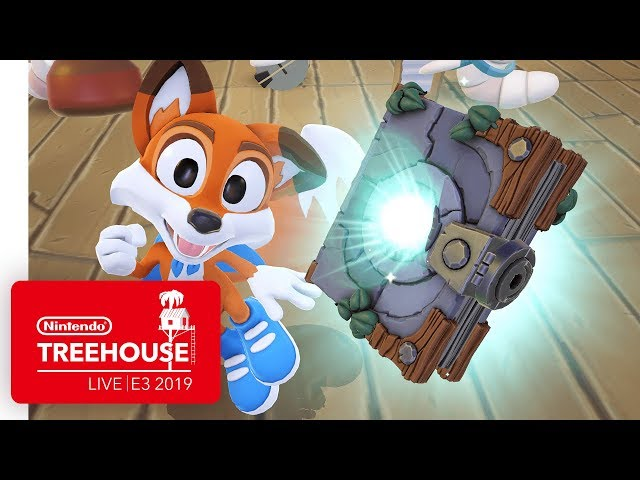 New Super Lucky's Tale Gameplay - Nintendo Treehouse: Live | E3 2019