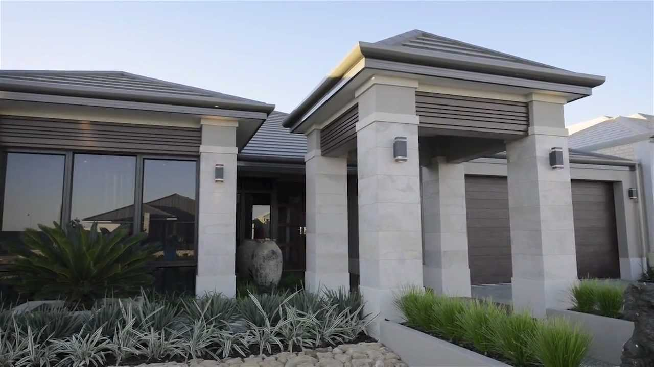 kayana new home designs contemporary builder dale alcock homes youtube - Modern Display Homes