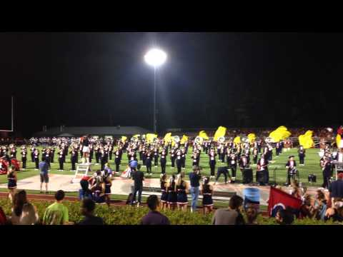 2015 08 21 Homewood High School Band Halftime Show last song
