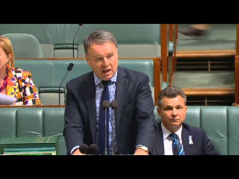 House of Representatives 90 second statement - ABC 1233 Newcastle cuts