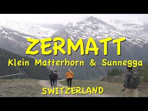 Klein Matterhorn and Sunnegga, in Zermatt, Switzerland