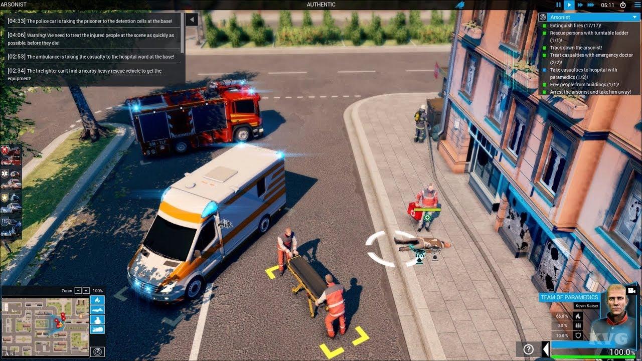 Emergency 20 Gameplay (PC HD) [1080p60FPS]