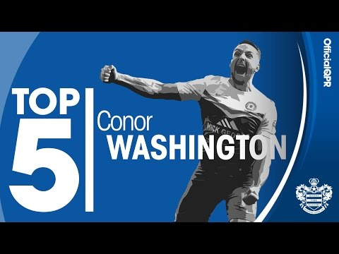 TOP 5 | CONOR WASHINGTON GOALS