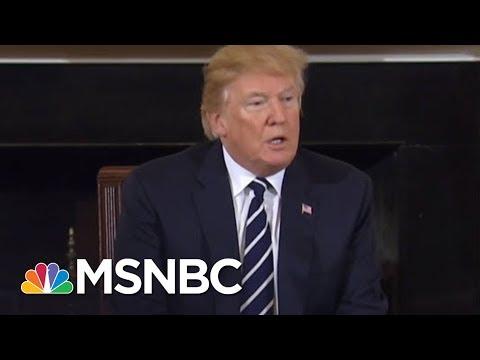 President Donald Trump Presser On Gun Violence