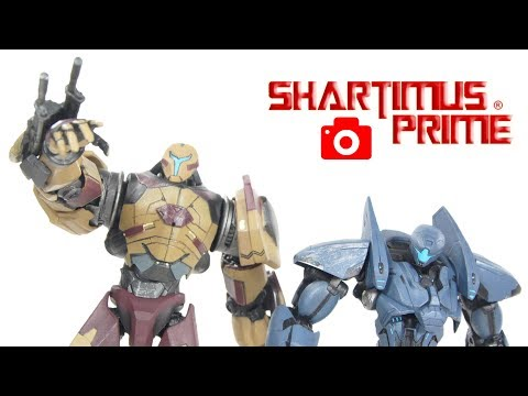 Pacific Rim Uprising Valor Omega And November Ajax Diamond Select Toys Snapshot Review