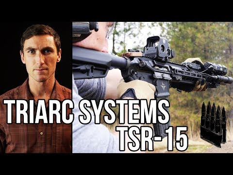 TRIARC Systems AR-15: High-end, ambidextrous. Review.
