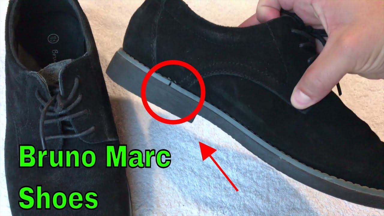 4a74d20564547 ✅ How To Use Bruno Marc Suede Shoes Review - YouTube