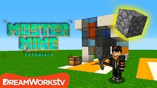 Build a Simple COBBLESTONE GENERATOR in Minecraft | MASTER MINE TUTORIALS