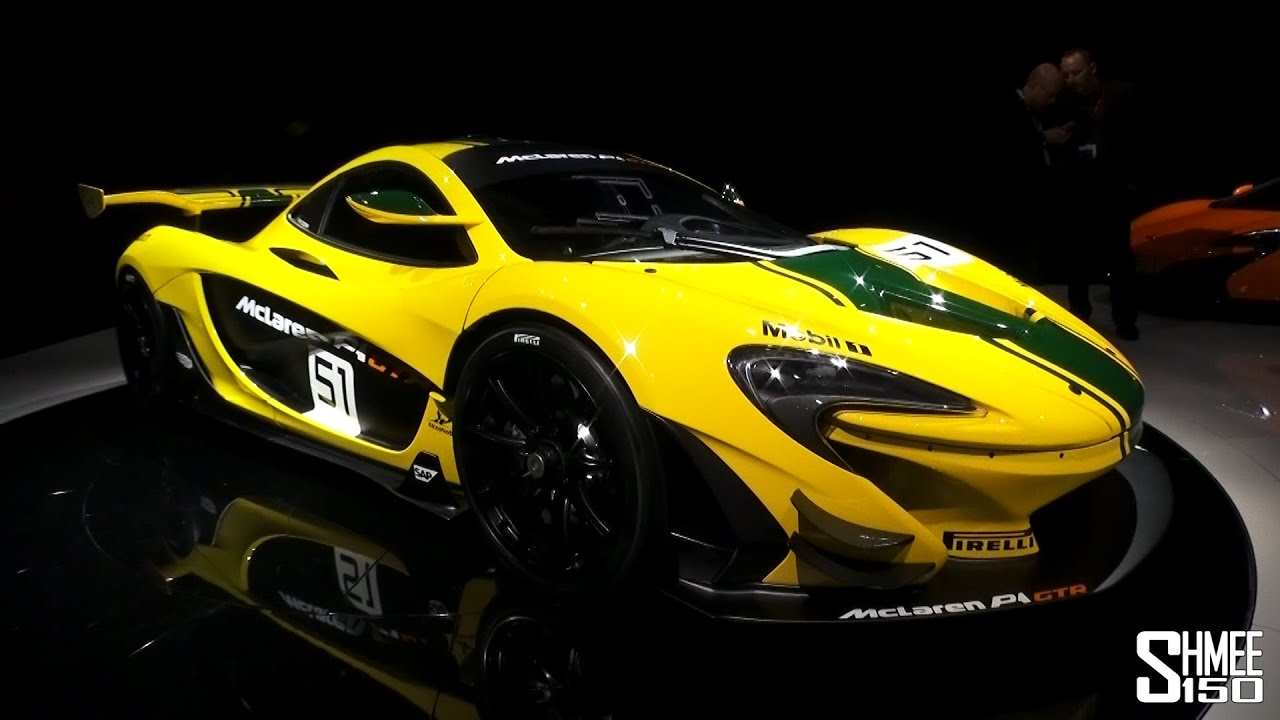 FIRST LOOK: McLaren P1 GTR Race Car - Geneva 2015 - YouTube