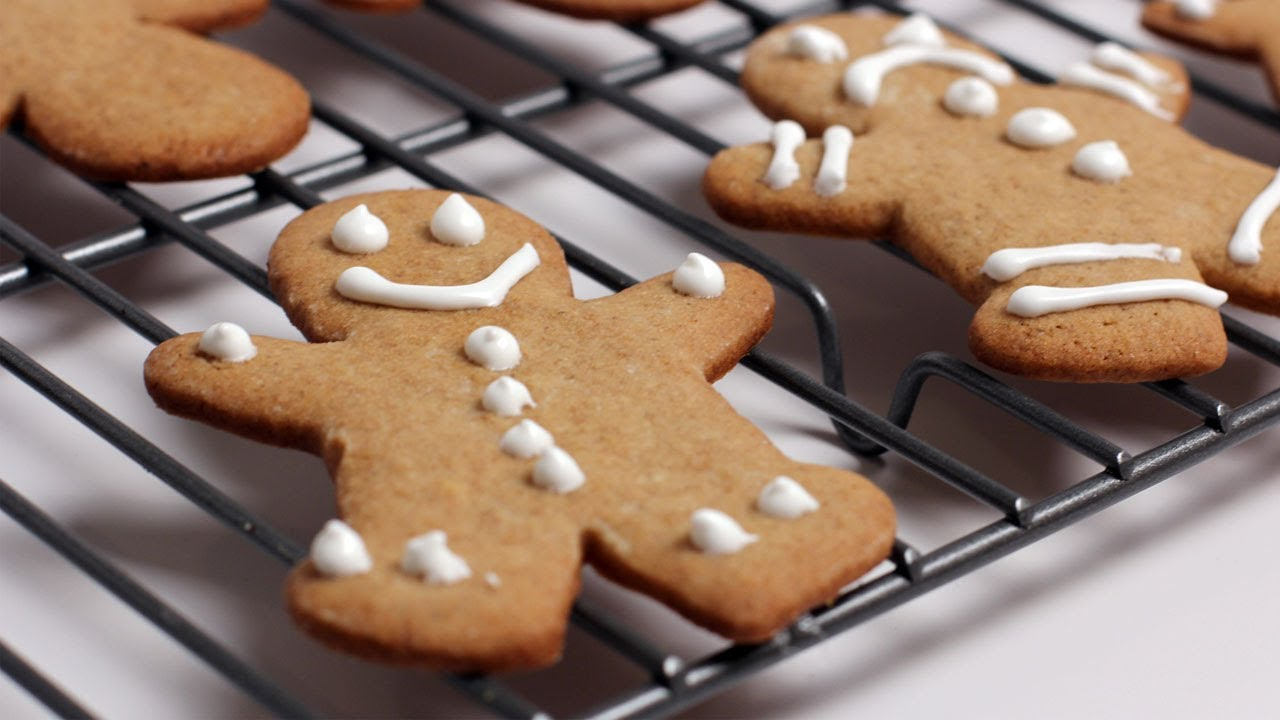 Gingerbread Man Cookie Recipe Laura Vitale Laura In The Kitchen Episode 253