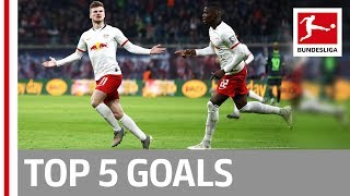 Top 5 Goals on Matchday 18 - Werner, Thiago, Brandt & More