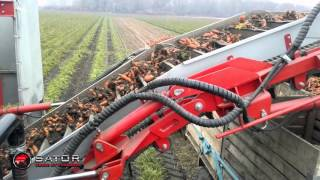 Superfast - Self Propelled Carrot Harvester / Samojezdny kombajn do marchwi