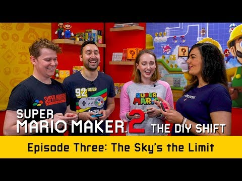 Super Mario Maker 2: The D.I.Y. Shift Ep 3 – The Sky's the Limit (Nintendo Switch)