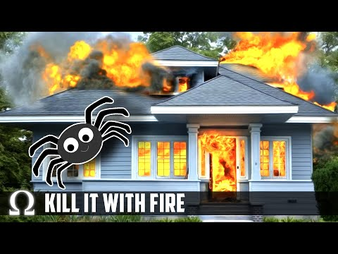 got-spiders?-i-burn-everything!-😂- -kill-it-with-fire:-ignite-(funny-game-/-demo)