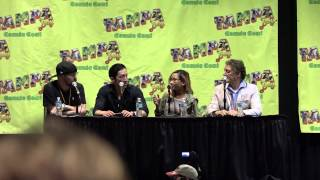 Voice Actors Panel - Christine Cabanos, Todd Haberkorn, and Christopher Sabat