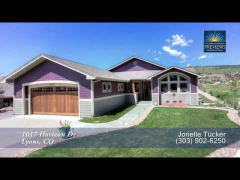 1017 Horizon Dr, Lyons, Colorado, Luxury Home for Sale