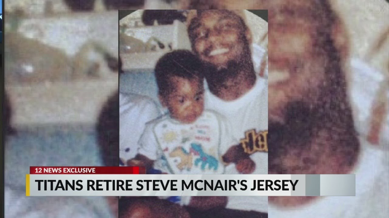 EXCLUSIVE: Steve McNair's son says he wasn't invited to father's jersey retirement