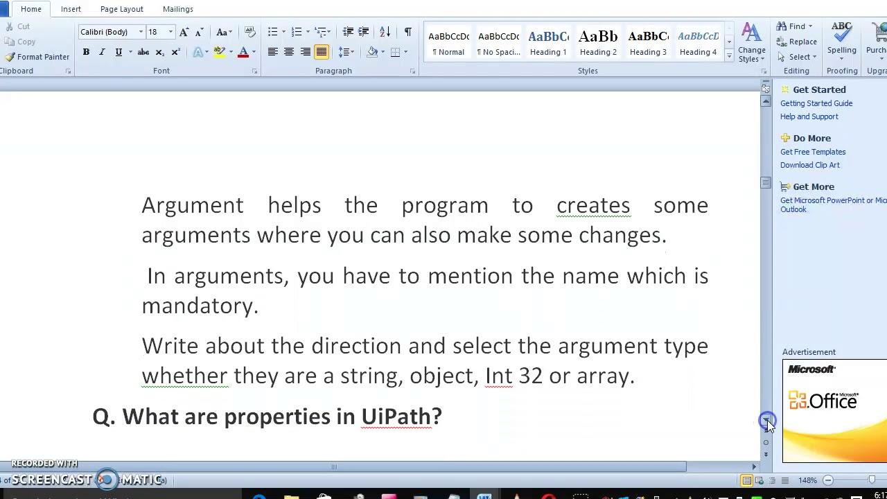 Uipath Office 365