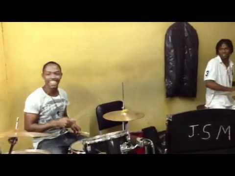 Drum Jam in Kingston, Jamaica