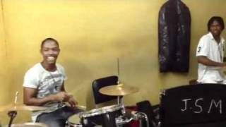 Drum Jam in Kingston, Jamaica