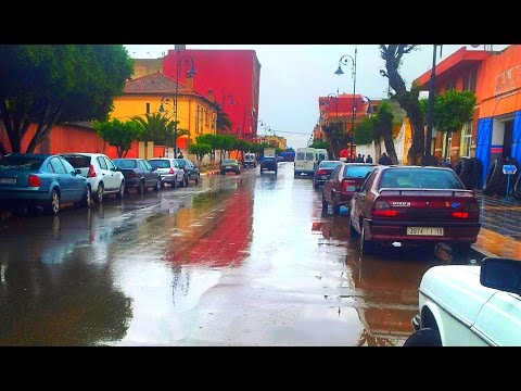 Berkane sous la pluie