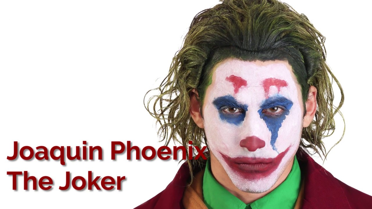 joaquin phoenix the joker makeup tutorial youtube. Black Bedroom Furniture Sets. Home Design Ideas