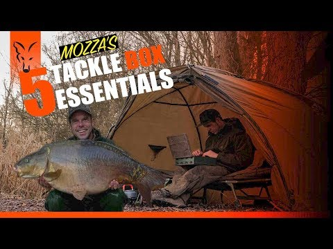***CARP FISHING TV*** Mozza's 5 Tackle Box Essentials
