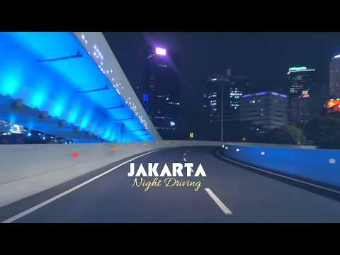 [Saraghuz] JAKARTA CITY, Capital Of Indonesia, The Night Driving #Indonesiatourism
